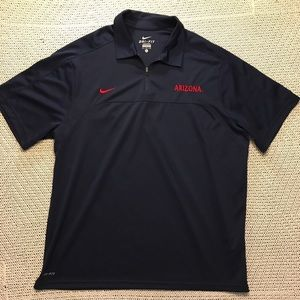 University of Arizona Nike Polo Shirt UA Wildcats